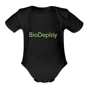 BioDeploy Logo Deep Green - Short Sleeve Baby Bodysuit