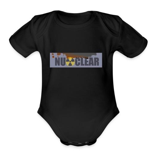 nu_clear - Organic Short Sleeve Baby Bodysuit