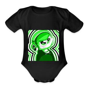 WeebMeme's Merch - Short Sleeve Baby Bodysuit