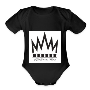 King David - Short Sleeve Baby Bodysuit