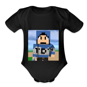 TDTgames - Short Sleeve Baby Bodysuit