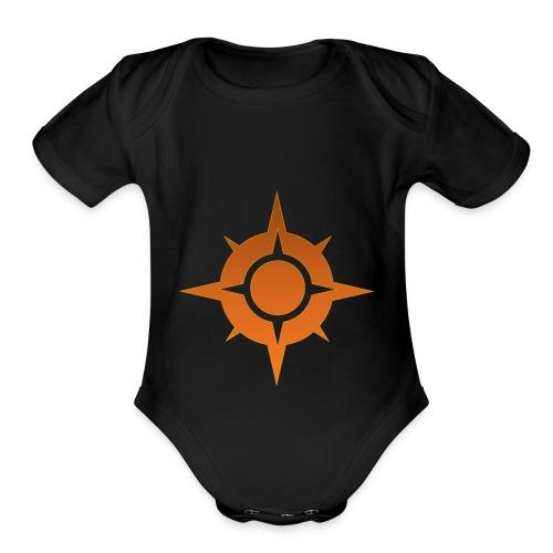 Pocketmonsters Sun - Organic Short Sleeve Baby Bodysuit