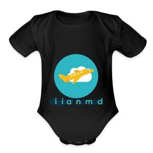 Digital nomad - Short Sleeve Baby Bodysuit