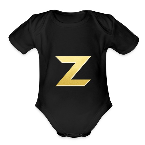 Zonary Alliance Gold logo Shirt - Organic Short Sleeve Baby Bodysuit