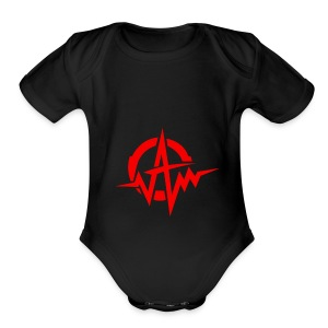 Amplifiii - Short Sleeve Baby Bodysuit