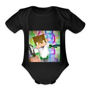 batman5245 - Short Sleeve Baby Bodysuit