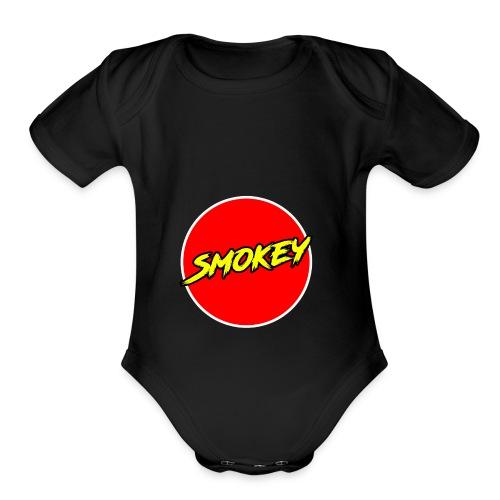 Smokey Mug - Organic Short Sleeve Baby Bodysuit