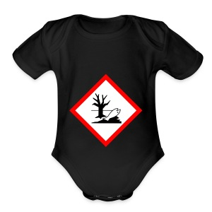 danger for the environment - Short Sleeve Baby Bodysuit