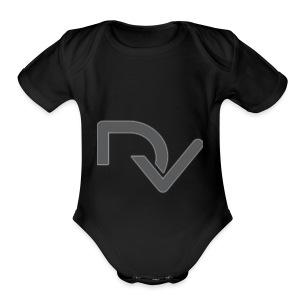 DaveyVlogs - Short Sleeve Baby Bodysuit