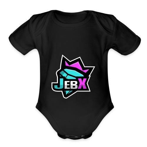 Jebx - Organic Short Sleeve Baby Bodysuit