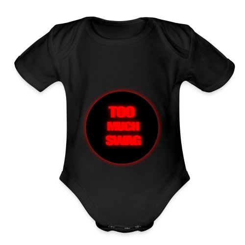 Asset_2 - Organic Short Sleeve Baby Bodysuit