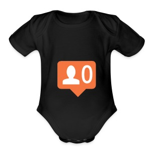 No Followers - Short Sleeve Baby Bodysuit