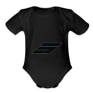 sparkclan - Short Sleeve Baby Bodysuit