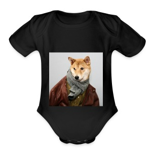 doge shirt - Short Sleeve Baby Bodysuit
