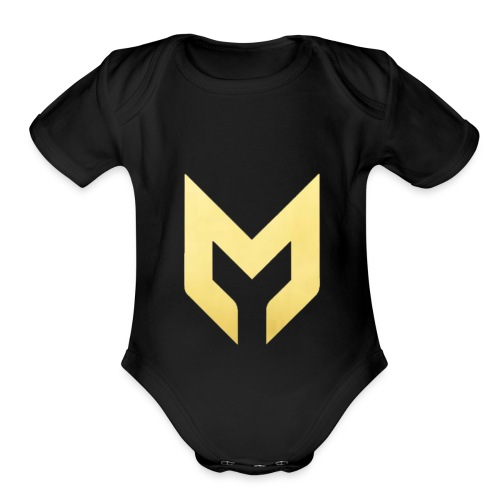MizzMerch - Organic Short Sleeve Baby Bodysuit