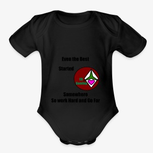 E8 Inspiration - Short Sleeve Baby Bodysuit