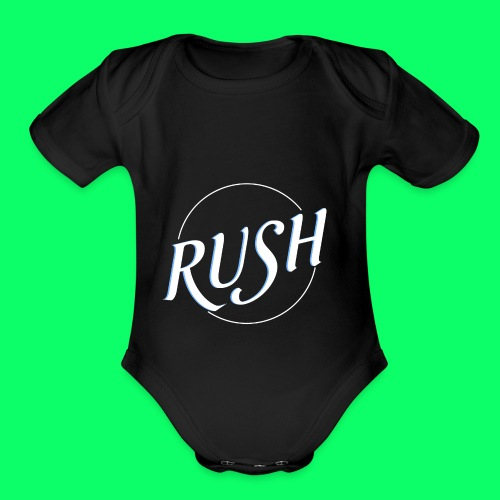 RUSH CLASSIC - Organic Short Sleeve Baby Bodysuit