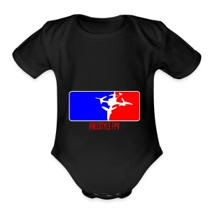 MAJOR LEAGUE - Short Sleeve Baby Bodysuit