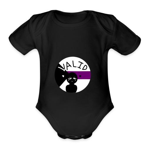 Demi Validation - Organic Short Sleeve Baby Bodysuit