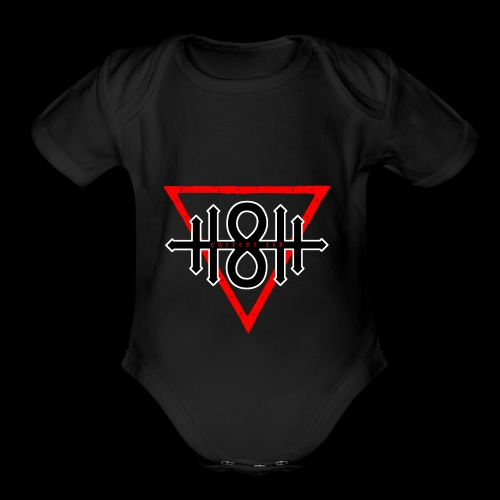 118 Blood Sigil > Current 118 - Organic Short Sleeve Baby Bodysuit