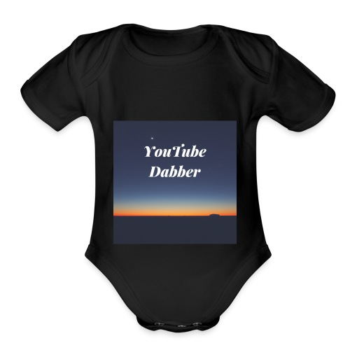 YouTube Dabber - Organic Short Sleeve Baby Bodysuit