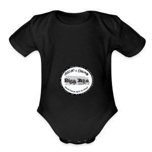 DigoJiba First - Short Sleeve Baby Bodysuit