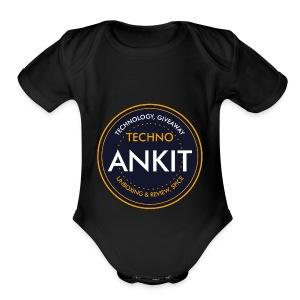 Techno AK - Short Sleeve Baby Bodysuit