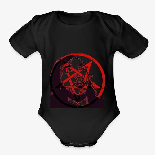Trevor (Pentagram) - Organic Short Sleeve Baby Bodysuit