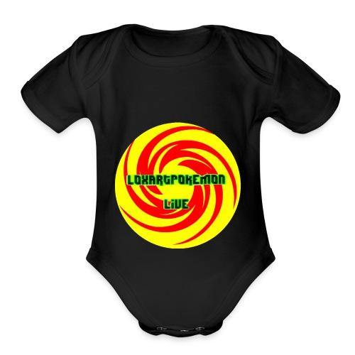 LoxartLive - Organic Short Sleeve Baby Bodysuit