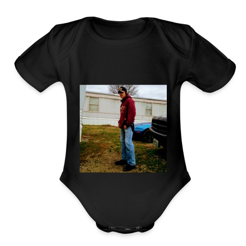 In Remembrance of Ducky - Organic Short Sleeve Baby Bodysuit