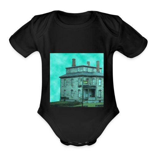 The Long Road Cover (House Only) - Organic Short Sleeve Baby Bodysuit