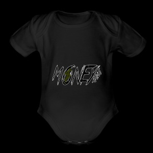 Money Gang MG - Short Sleeve Baby Bodysuit