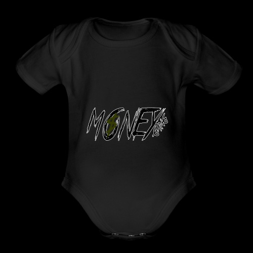 Money Gang MG - Organic Short Sleeve Baby Bodysuit