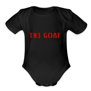 GREEK GOAT - Short Sleeve Baby Bodysuit