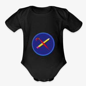 creativeplaying - Short Sleeve Baby Bodysuit