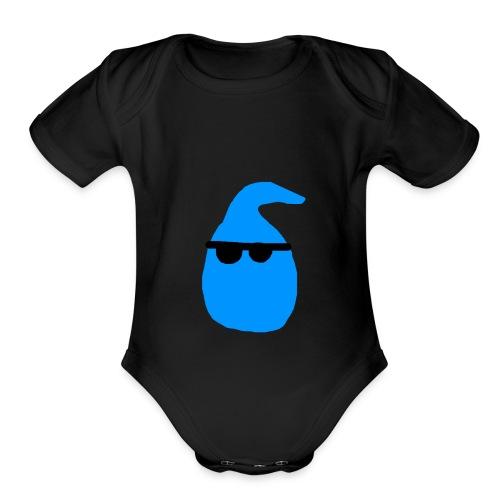 Raindrops Be Rollin' - Organic Short Sleeve Baby Bodysuit