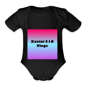 310 merchandise - Short Sleeve Baby Bodysuit