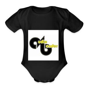 audio bender - Short Sleeve Baby Bodysuit