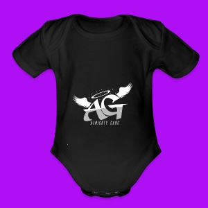 Almighty Gang Logo - Short Sleeve Baby Bodysuit