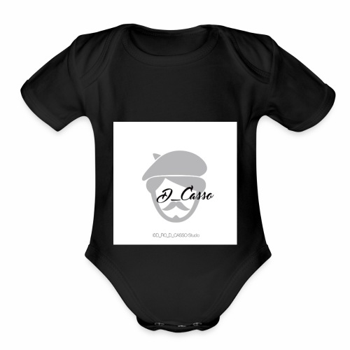 Duriel Rouchon - Organic Short Sleeve Baby Bodysuit
