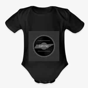 CAPITAL LOGO - Short Sleeve Baby Bodysuit