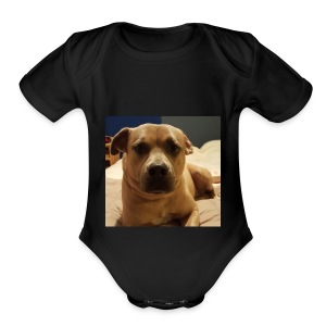 Linus1 - Short Sleeve Baby Bodysuit