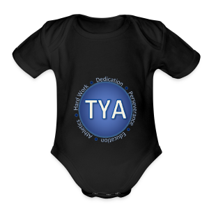 Texas Youth Advocates Apparel - Short Sleeve Baby Bodysuit