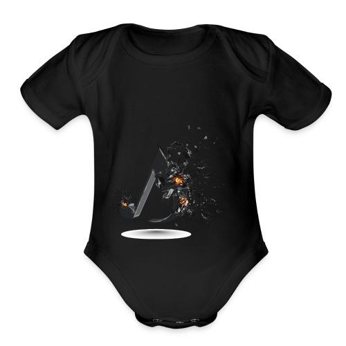 img0264 - Organic Short Sleeve Baby Bodysuit