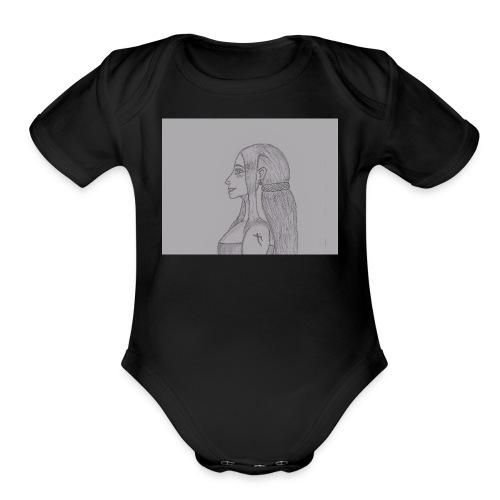 AmatunauntaCreator - Organic Short Sleeve Baby Bodysuit