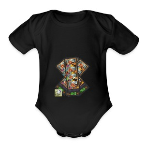 Photo Strip Shirt - Short Sleeve Baby Bodysuit