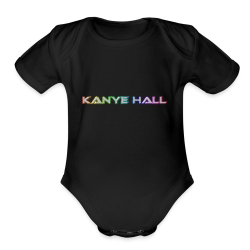 Kanye Hall - Organic Short Sleeve Baby Bodysuit