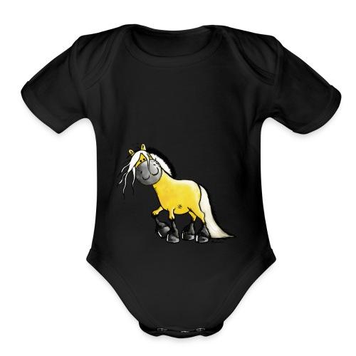 marwi - Organic Short Sleeve Baby Bodysuit