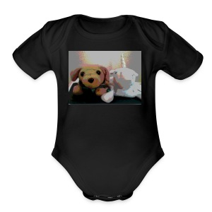 Buddy & Sparkles - Short Sleeve Baby Bodysuit