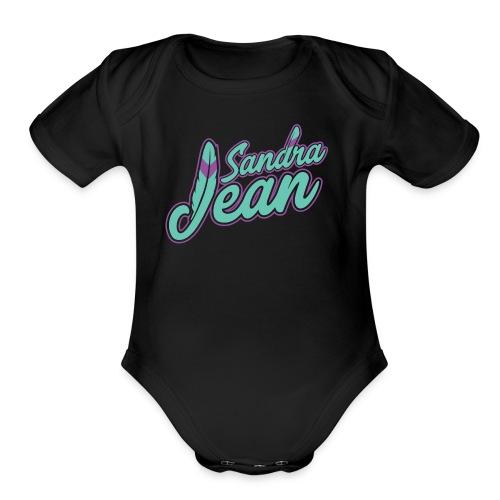 Sandra Jean - Organic Short Sleeve Baby Bodysuit